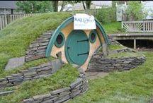 Woodshire Hobbit Hole / by Wooden Wonders Hobbit Holes
