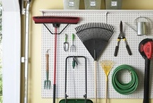Organising the Garage / How to make the most of the space in the garage.