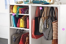 Organising the Wardrobe / How to create organised wardrobes and closets, to save time, money and space.