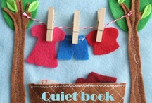 Quiet Book Inspiration / Page Ideas / by Susan Clevinger