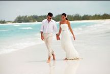 Weddings and Honeymoons / The most beautiful destinations where you could enjoy a sunny Wedding or desert-island Honeymoon. Nothing says romantic more than an orange sunset, his and hers cocktails and sand between the toes.