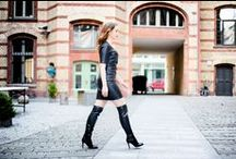 Boots & Overknees & Stiefel Lookbook - Outfits / My outfits styles combined with boots and booties, overknees, over the knee boots - Stiefel