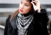 Scarfs - Schal & Tuch - by pureGLAMtv / How I look like wearing a scarf - Louis Vuitton Scarf