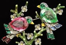 Jewellery ~ Vintage Costume / Gorgeous designer costume jewellery from the early to mid 20th century