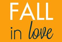 FALL in LOVE   / Fall decor food and other ideas !