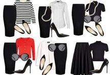 Fashion Styles - Tips & Helpful Outfit Ideas (by other pinners) / Fashion tipps and advices