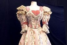 Historical Fashion ~ Dresses / Beautiful dresses and gowns from around the 18th to early 20th century