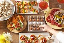 Recipes ~ Party Food / Party food, canapes, appetizers, finger food &  drinks for parties & entertaining ~ if you've tried a recipe, please feel free to share your thoughts with a comment on my pin ~ thank you!