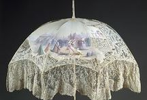 Historical Fashion - Parasols / Beautifully feminine parasol and umbrella accessories from the past