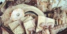 Weddings ~ White & Neutrals / Wedding decor, dresses and accessories in white and neutrals
