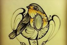 Tattoo ideas / by Marloes Tobé