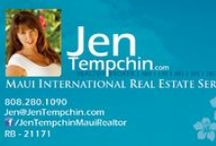 Maui Real Estate / Aloha ! Let me know if you are looking to buy or sell real estate in Maui @ 808.280.1090 OR search for Maui homes @ JenTempchin.com.  / by Jen Tempchin