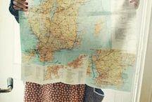 Maps & Globes / by Sahar Nasser