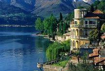 Travel | The Lakes, Italy / Things to see and do around Lake Como, Lake Maggiore, Lake Garda, Lake Orta.