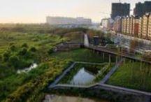 Construcción Sustentable / Edificaciones sustentables a lo largo del mundo. Un tablero patrocinado por CEMEX / by Expok Sustentabilidad y RSE