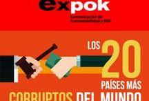 Infografías de RSE Sep-Dic 2014 / by Expok Sustentabilidad y RSE