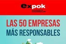 Infografías de RSE 2015 / by Expok Sustentabilidad y RSE