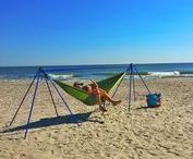 Hammock Stands / When there are no trees in sight you can still Relax comfortably in your hammock!