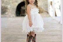 Flower girl styles / Flower Girl Dresses, Country Wedding Ideas, Wedding flower girl ideas, flower girl dress ideas