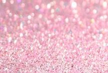Sparkly Happiness / glitter, shiny, sparkly, nails, wallpaper, crafts, pictures, DIY, photography, makeup, quotes, background, ornaments, edible, party, lips, decor, cupcakes, shoes, art, cake, dress, pink, gold, roots, jewelry, accessories, clothes, fashion, sequins, disco ball