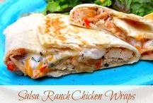 Sandwiches/Wraps / by Lydia @ Thrifty Frugal Mom
