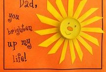 Father's Day Crafts Children Can Make for Dad / Cheap and easy Father's Day crafts kids can make. Creative craft ideas for Father's Day with simple instructions and easy-to-find supplies. / by Danielle's Place of Crafts