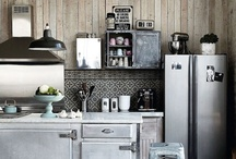 Cook in style - Kitchens / Great Kitchens. Modern and Traditional! Get inspired. / by DesignerLivingOnline London