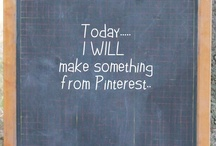You are on my 'to do'  list / Things I'm getting ready to make from Pinterest ..