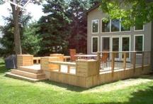 backyard and decks  / by Doreen Lyons