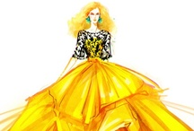 Fashion Illustration ✒ / Fashion Drawings and Sketches / by Nicole Y Johnson