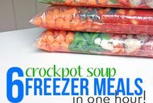 Freezer Meals / by Lydia @ Thrifty Frugal Mom