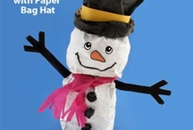 Snowmen and Snow Crafts / Snowmen crafts and snowflake crafts for Kids / by Danielle's Place of Crafts
