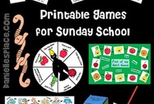Sunday School Bible Games - Bible Verse Review Games / Bible Games for Sunday School, Active Bible Games, Easy-to-Prepare Bible Games for Sunday  School, and Bible Verse Review Games / by Danielle's Place of Crafts