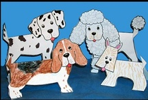 Dog Crafts / Dog Crafts and Learning Activities / by Danielle's Place of Crafts