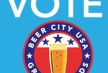Beer City USA Grand Rapids / It's time to show your Grand Rapids pride by casting your vote for Grand Rapids for Beer City USA. You can vote May 6-10 at www.experiencegr.com/votebeer / by Experience Grand Rapids Michigan
