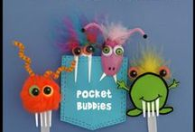 Plastic Fork and Spoon Crafts / How to make crafts from plastic forks and spoons.