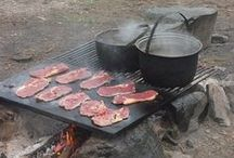 Camping - Food / Food we can cook while at camper / by Brenda Lincoln