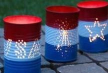 July 4th Decorating Ideas / Decorations for July 4th - Independence Day / by Brenda Lincoln