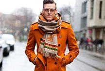 Bundle Up / Men keeping warm the stylish way.