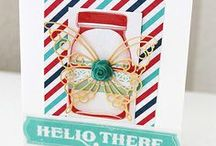 Clean and Simple or Mixed Media Cards by Meihsia Liu / This Board contains my creations of CAS cards