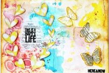 Art Journal by Meihsia Liu / My creations of Art Journal