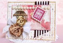 Shabby Chic Style Cards by Meihsia Liu