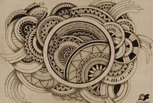 With Pen and paper cont... / art / by Tammie