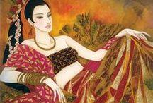 Chinese painter FENG CHANG JIANG