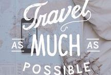 Traveller thoughts / Travel quotes