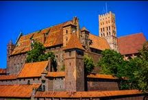 Malbork Castle / The largest castle in the world by surface area.