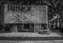 Stutthof Concentration Camp / Stutthof was a Nazi German concentration camp built in a secluded, wet, and wooded area near the small town of Sztutowo (German: Stutthof) 34 km east of the city of Gdańsk in the former territory of the Free City of Danzig