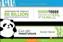 Google Panda Infographics / by Robin Good