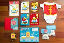 Baby Shower: Vintage Circus / Inspiration board for a vintage circus baby shower