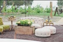 Wedding: Garden Themed / Inspiration for a garden wedding